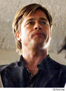 Brad Pitt clean shaven, Radiesse, the best cheek fillers